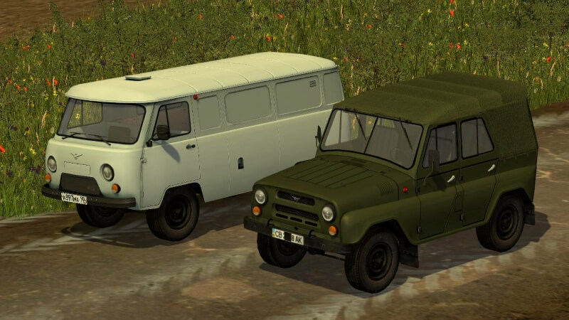 UAZ Trailers Pack 1