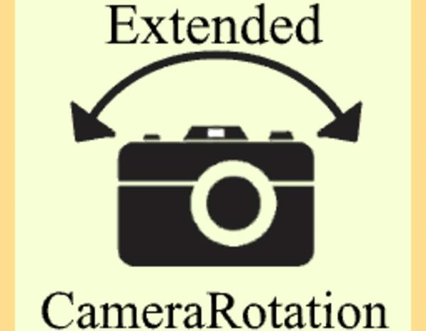 extended camera rotation